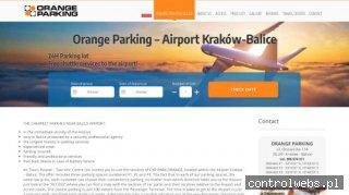 parking przy lotnisku w krakowie