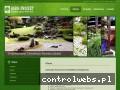 Screenshot strony agro-projekt.pl