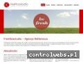 Screenshot strony www.freshboxstudio.com
