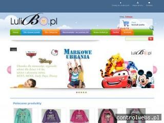 Lulibo.pl - ubranka dla dziewczynek