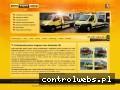 Screenshot strony www.pomocdrogowalublin.pl