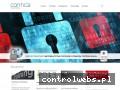 Screenshot strony www.contica.pl