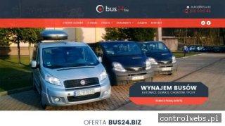Bus24.biz- usługi transportowe, wynajem busów