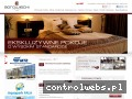 Screenshot strony www.hotelborowiecki.pl