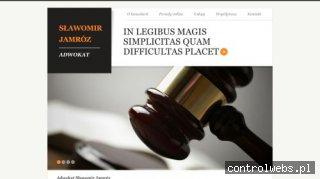 SŁAWOMIR JAMRÓZ kancelaria adwokacka rzeszów