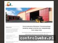 Screenshot strony www.firmabudowlanaboleslaw.pl