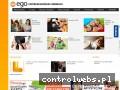 Screenshot strony www.ego.wroc.pl