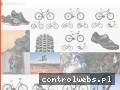 Screenshot strony rowerowcy.pl