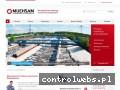 Screenshot strony www.muehsam.pl