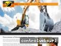 Screenshot strony www.stepol-pracesprzetowe.pl